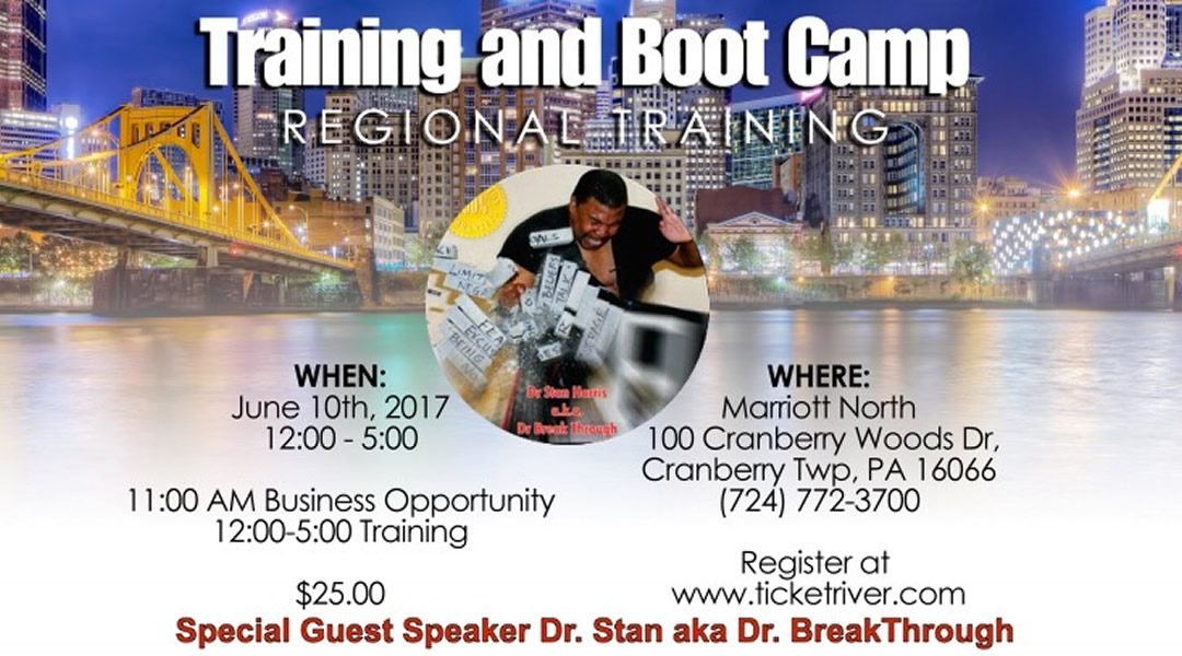 June 10th Training & Boot Camp